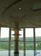 Фигуративен окачен таван от гипсокартон със скрито осветление
