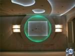 Скрито осветление на стена и таван