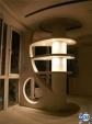 Колона с рафтове от гипсокартон