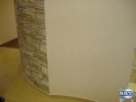 Овална стена от гипсокартон