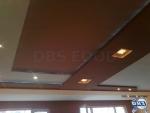 Окачен таван със скрито осветление от гипсокартон