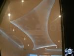фигуративен окачен таван със скрито осветление