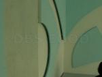 Декоративна преграда със скрито осветление