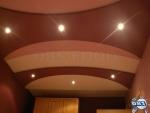 Окачен таван от гипсокартон в спалня