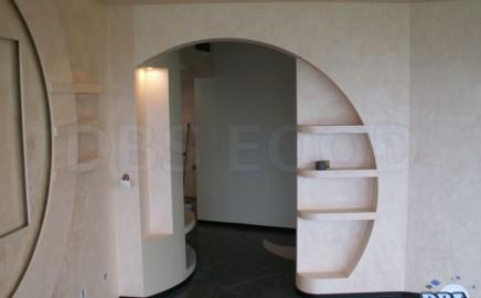 Декоративни прегради от гипсокартон