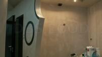 декоративна преграда от гипсокартон